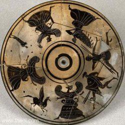 P23.8 Perszeusz, Medúsza és a Gorgók. I.e. 525 - 475.