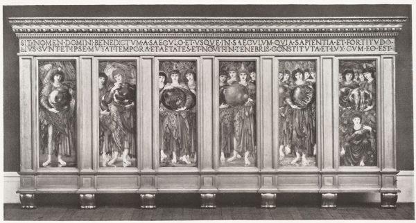 Edward Burne-Jones: A teremtés napjai. Angyalmágia a hét napjainak angyalaival