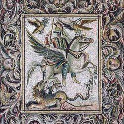 Z44.1 Bellerophón legyőzi a Kimérát Pegazus hátán. I.sz. 260.