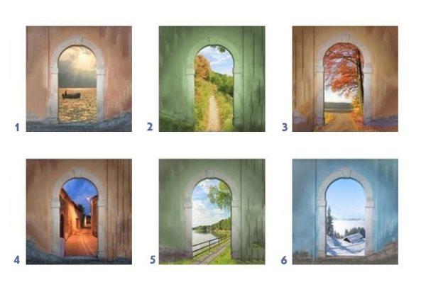 Válassz egy ajtót, és tudd meg, hova vezetnek az angyalok!