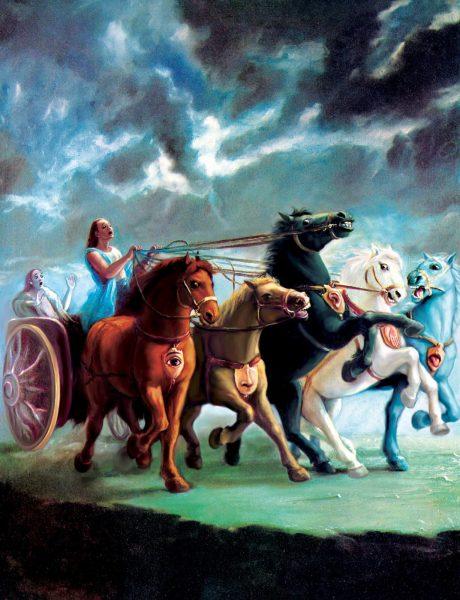 Pegazusok az Upanisadokban 1. A Brihadáranyaka-upanisad