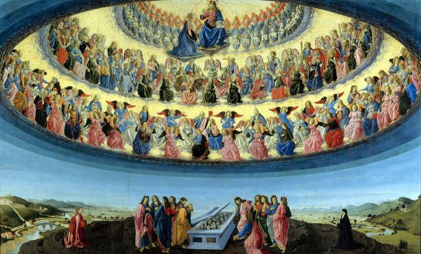 Angyalok hierarchiája - Te hova tartozol? Francesco_Botticini_-_The_Assumption_of_the_Virgin