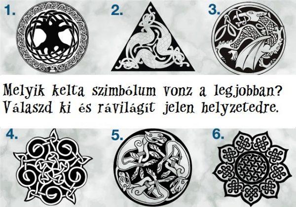 Válassz egy kelta szimbólumot, hogy megtudd, mit üzennek neked az ősi angyalok!