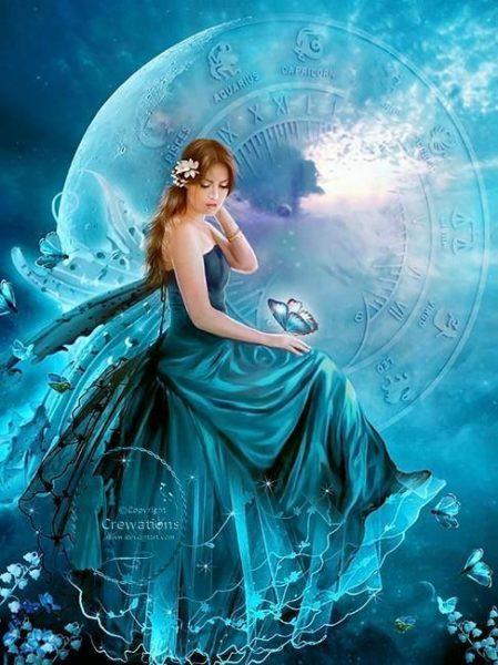 Angyalmágia és a Hold angyalai