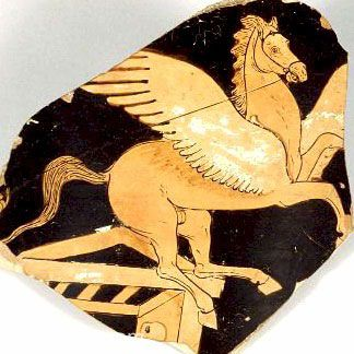 P29.1 Pegazus felkantározva. I.e. 360 - 350.