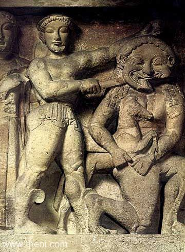 R47.1 Perszeusz levágja Medúsza fejét