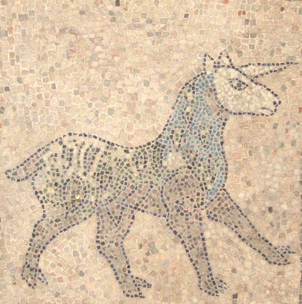 Ókori római unikornis mozaikábra
