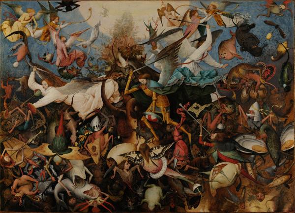 Pieter Bruegel id. - A lázadó angyalok bukása (1562)