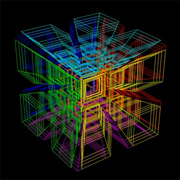 5 dimenziós kocka